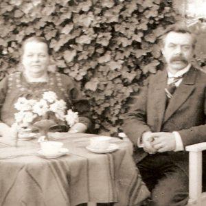 George en Anna Enzlin