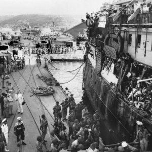 Bahai geschiedenis - Exodus 1947 Haifa