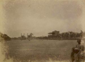 Koningsplein in Isfahan, c. 1890