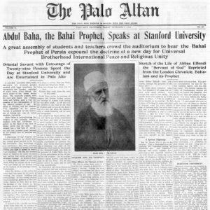 Bahai geschiedenis - Stanford