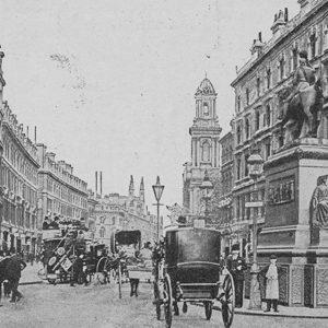 Toren van de City Temple in Londen (1907)