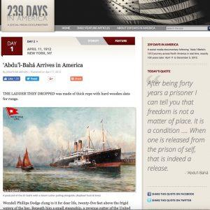 Bahai geschiedenis nieuws verdieping