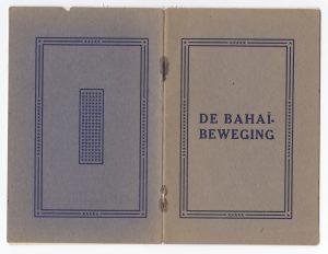 Baha'i Brochure