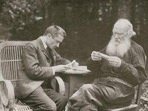 Bulgakov en Tolstoy