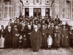 Consul ontmoet 'Abdu'l-Bahá